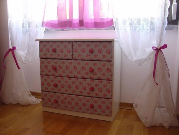 Como reformar móveis com tecido 011