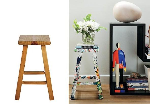 Como reformar móveis com tecido 012