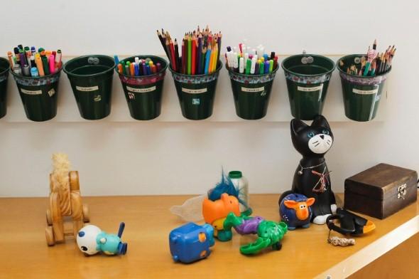 Organizadores artesanais para o quarto das crianças 007