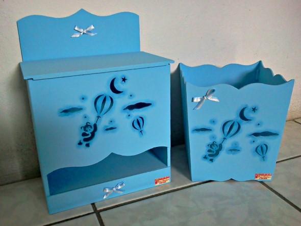 Organizadores artesanais para o quarto das crianças 012