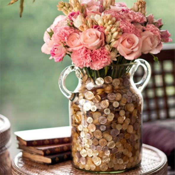 Vasos de flores artesanais e criativos 001