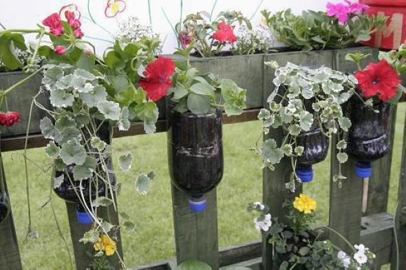 Vasos de flores artesanais e criativos 015