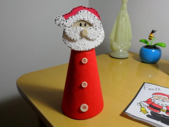 Artesanato com cones de papelão 011