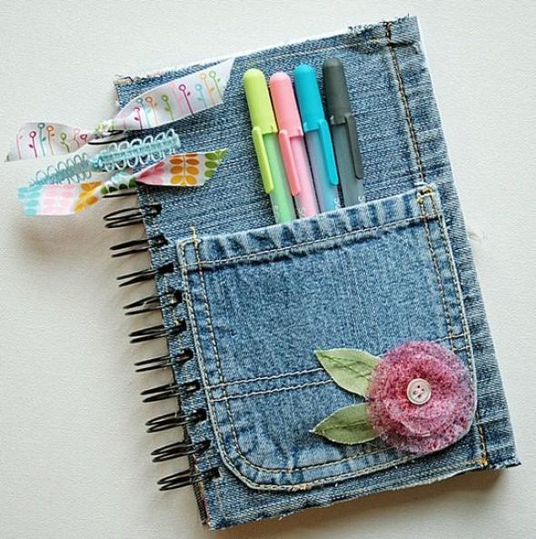 Artesanato com jeans usado 004
