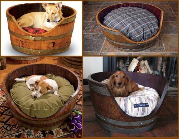 Cama artesanal para animais de estimação 001