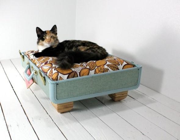 Cama artesanal para animais de estimação 002
