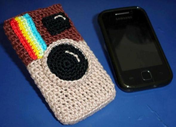 Como fazer porta celular de crochê 010