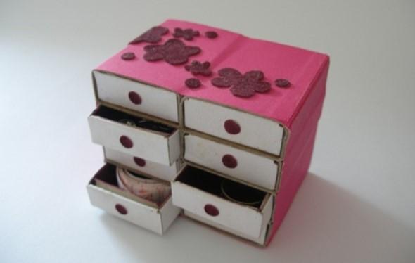Artesanato com caixinha de fósforo 001