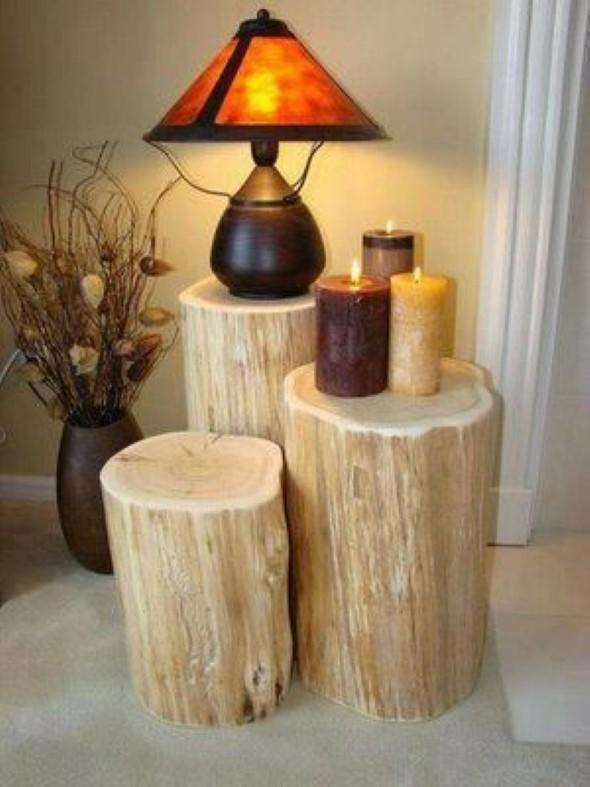 Artesanato com galhos e troncos 011