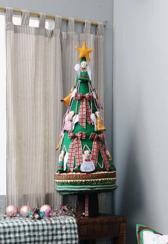 Artesanato natalino com feltro 015