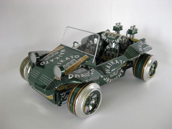 Artesanato com latinhas de alumínio 005