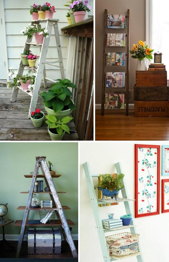 Dicas de artesanato com escadas 012