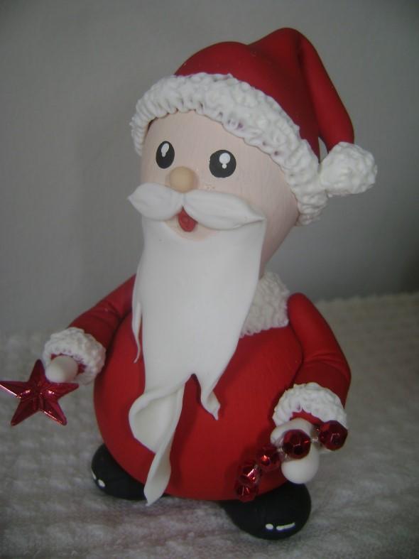 Papai Noel artesanal 003