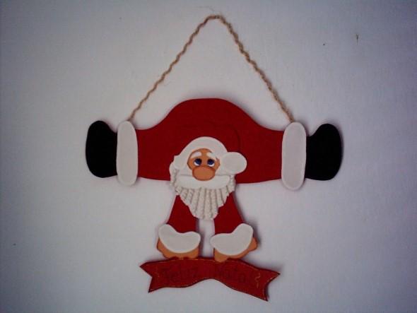 Papai Noel artesanal 005