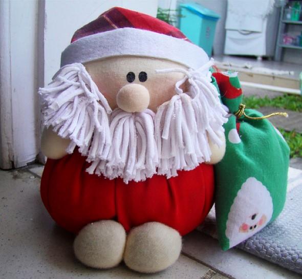Papai Noel artesanal 014