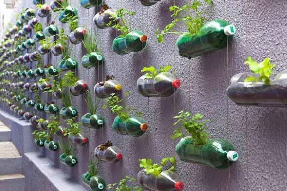15 dicas criativas de artesanato com garrafas pet 003