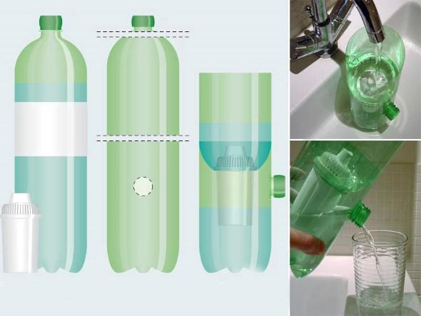 15 dicas criativas de artesanato com garrafas pet 006