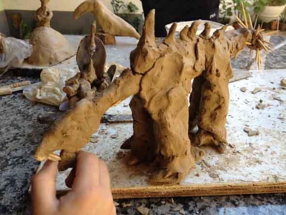 Artesanato com argila para as crianças 014