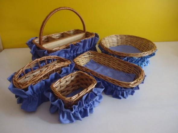 Artesanato com cestos de vime 013