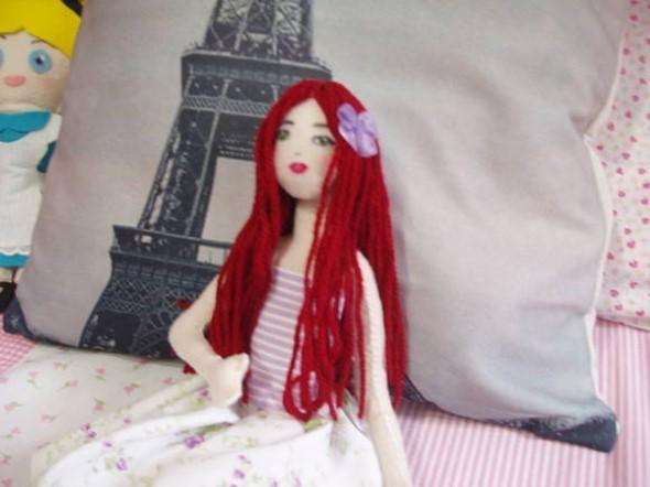 Como fazer boneca de feltro 006