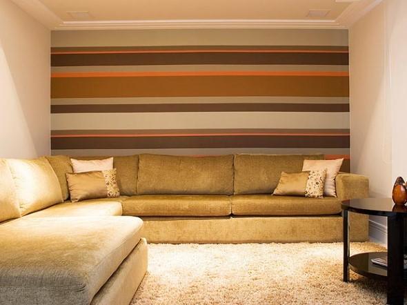 Dicas para pintar listras nas paredes de sua casa 003