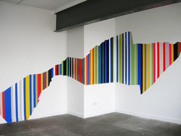 Dicas para pintar listras nas paredes de sua casa 008