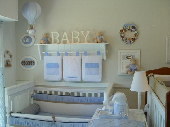 Enfeitar o quarto do bebê com MDF 015