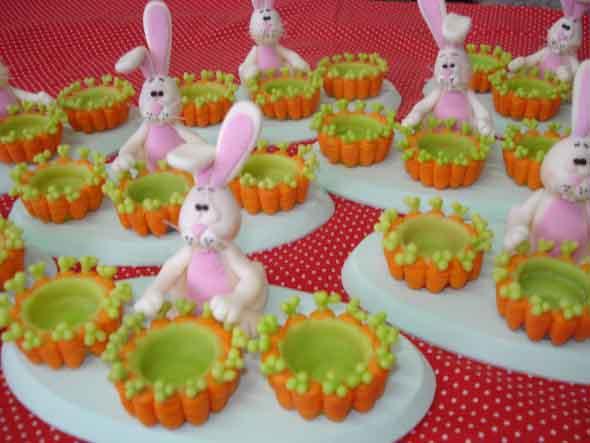 Coelhinhos da páscoa em biscuit 004