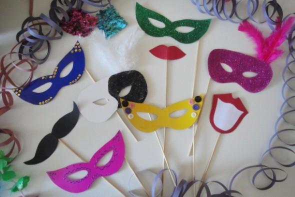Como fazer mascara de carnaval 001