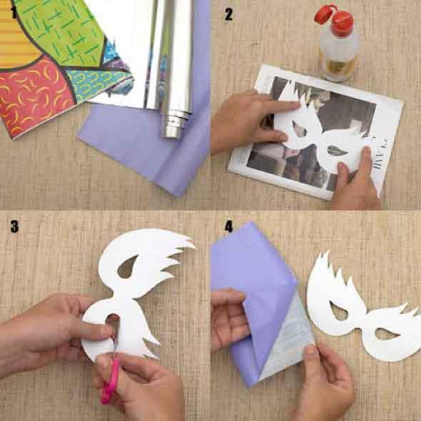 Como fazer mascara de carnaval 008