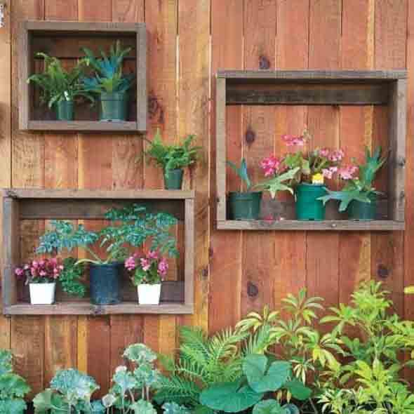 Reciclagem criativa para enfeitar o jardim  011