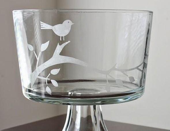 Aprenda a fosquear vidros 011