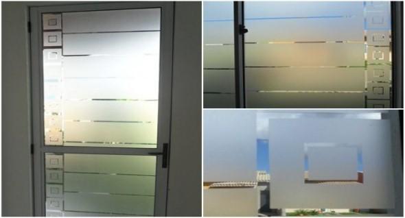 Aprenda a fosquear vidros 012