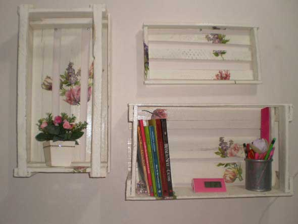Como fazer nichos com caixote de feira 003