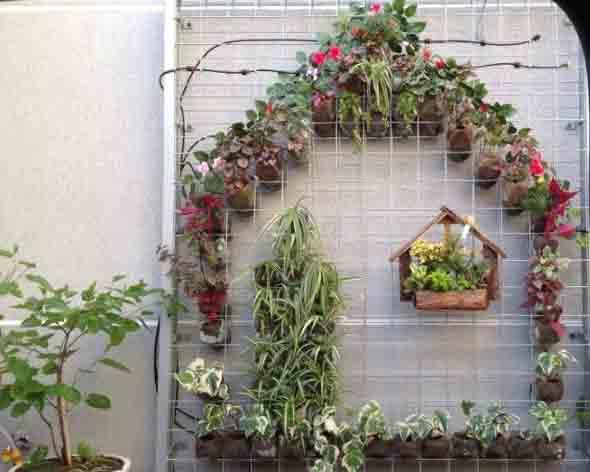 Jardim vertical artesanal 010