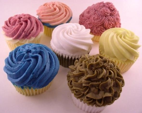 Aprenda a fazer sabonete de cupcake 004