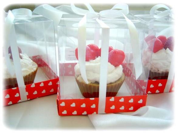 Aprenda a fazer sabonete de cupcake 006