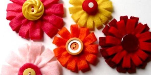 Flores artesanais para o Dia das Mães 003