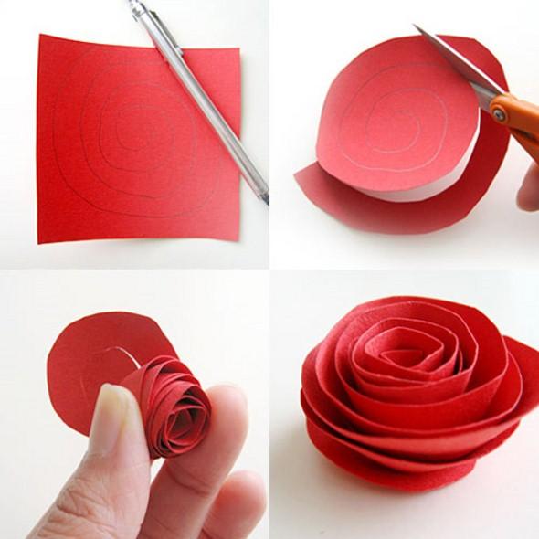 Flores artesanais para o Dia das Mães 010