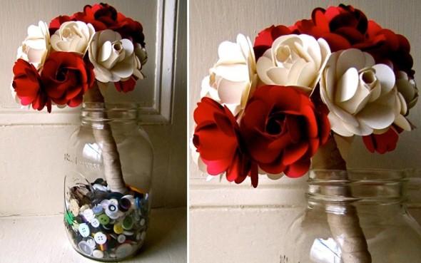 Flores artesanais para o Dia das Mães 011