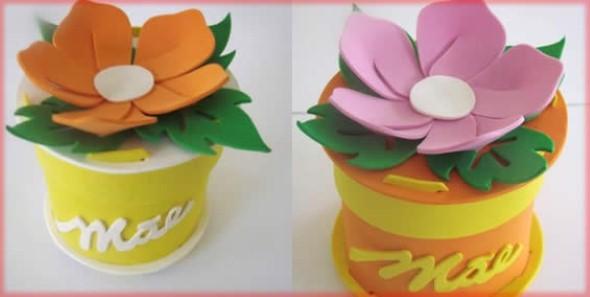 Flores artesanais para o Dia das Mães 013