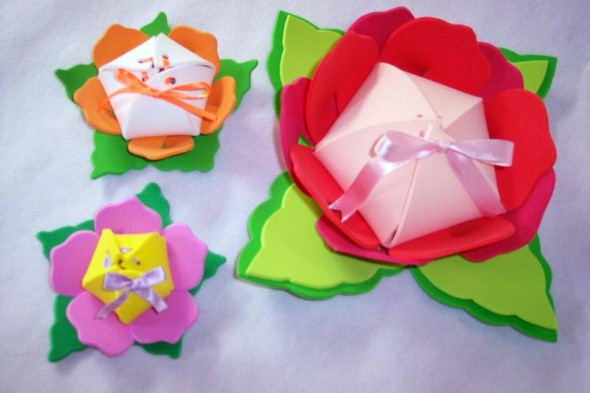 Flores artesanais para o Dia das Mães 014
