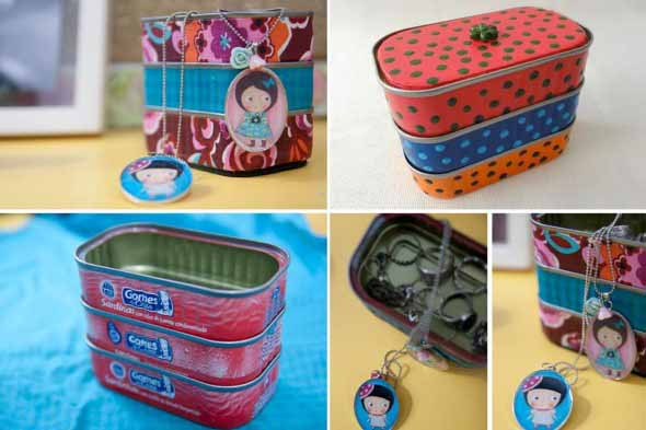 Porta-joias artesanal 012