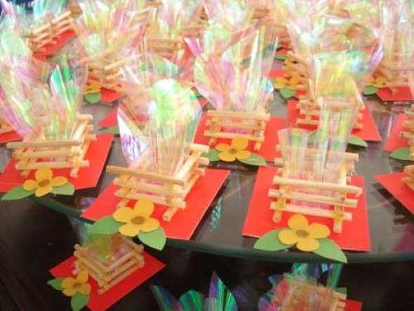 Enfeites artesanais para Festa Junina 003