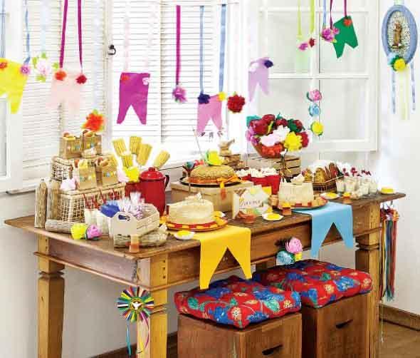 Enfeites artesanais para Festa Junina 006