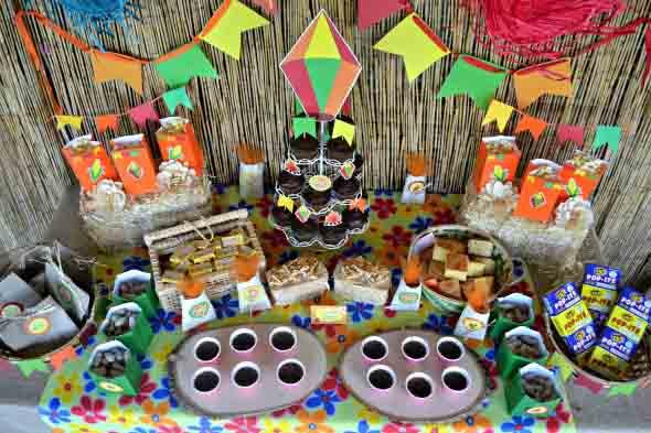 Enfeites artesanais para Festa Junina 012