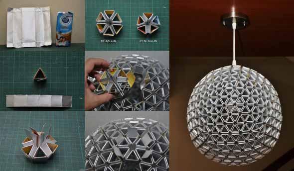 Luminárias artesanais 003
