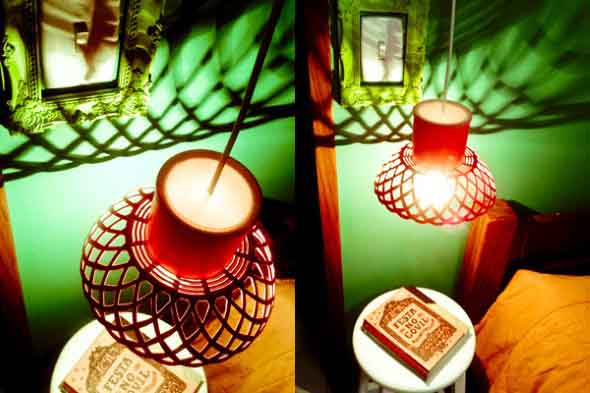 Luminárias artesanais 010