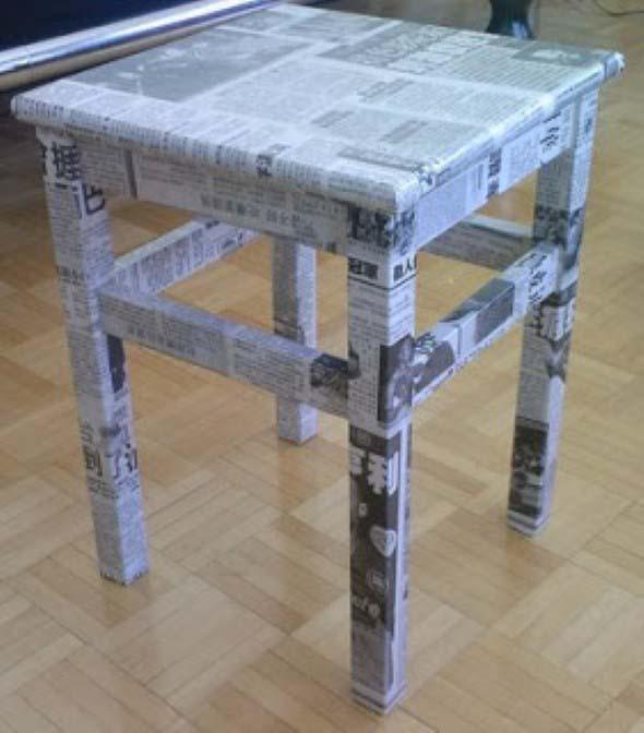 Artesanato com jornal – Dicas e modelos 013