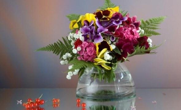 Como fazer arranjo de flores 002